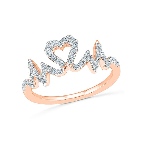 Beat of Love Diamond Ring