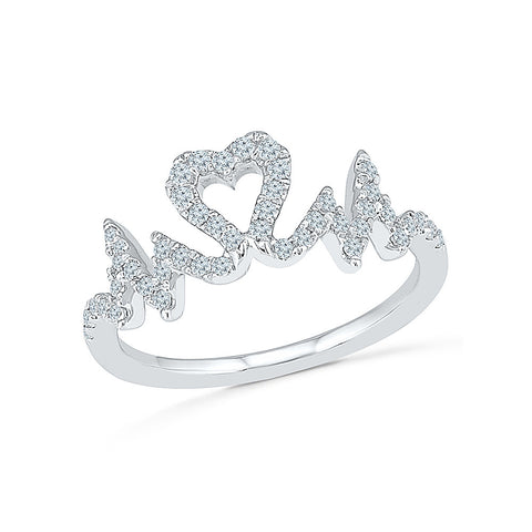 Beat of Love Diamond Ring for women online in gold