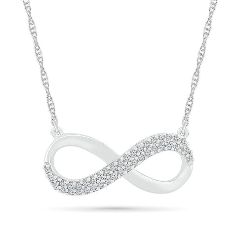 Admirable Infinity Necklace