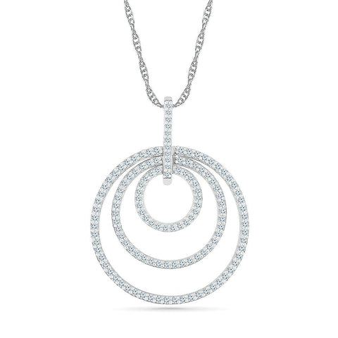 Diamond Circlet Pendant