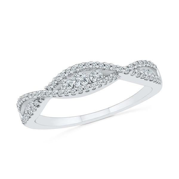 Elegant Spirit Diamond Ring