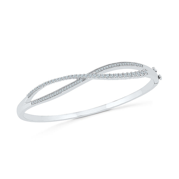 Buy gold pretty diamond bangle for special functions