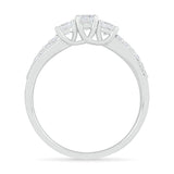 Tempting 3 Stone Diamond Ring