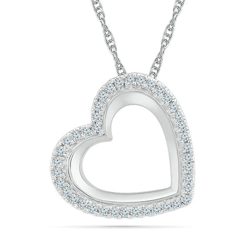 Bold Love Heart Pendant