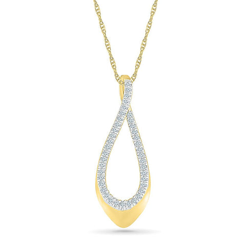 Good-Looking Bold Gold Linear Pendant