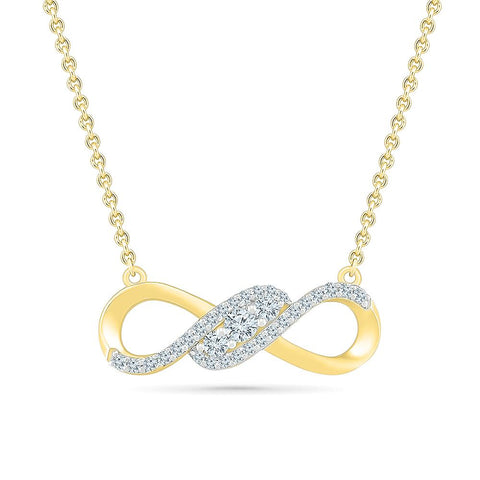 Romantic Infinity Necklace