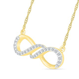 Trendy Infinity Necklace