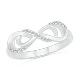 Beauty Enhanced Infinity Ring