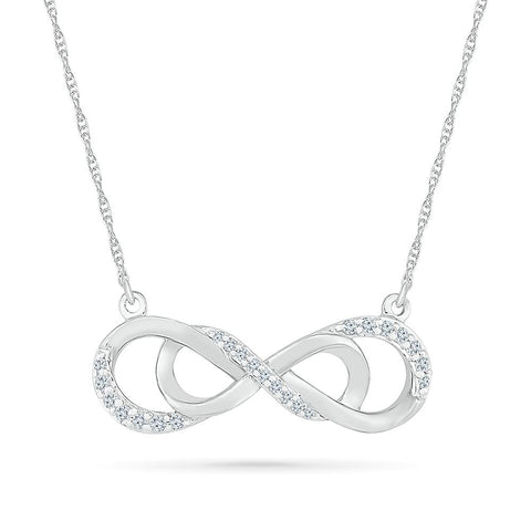 Effortless Beauty Infinity Necklace