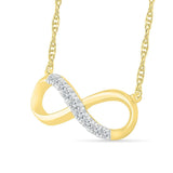 Attractive Infinity Necklace