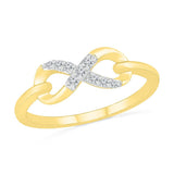 Diamond Forever Infinity Ring