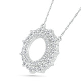 Sunshine Diamond Pendant