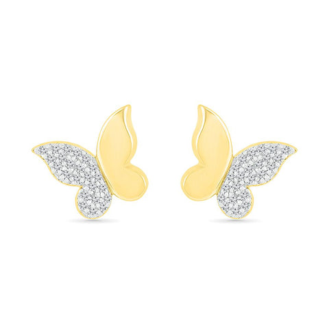 Charming Butterfly Stud Earrings
