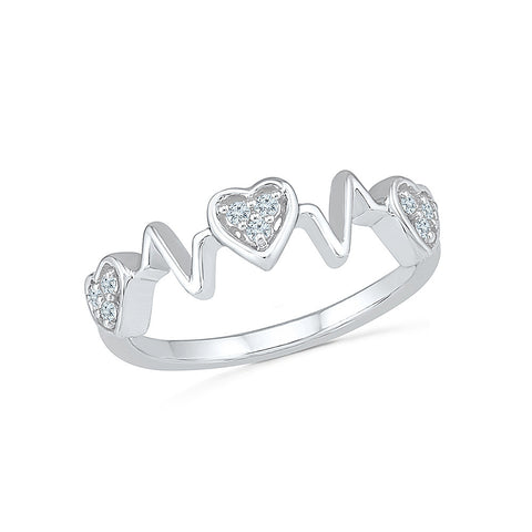 Miss a Beat  Diamond Ring for women online in gold