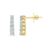 Captivating Diamond Earrings - Radiant Bay