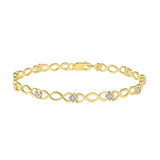 Infinity Blinks Diamond Bracelet