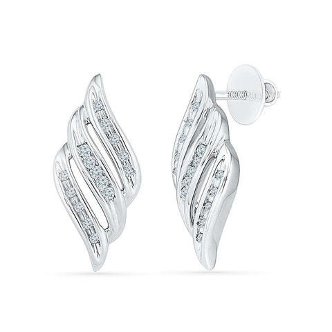 chanted Everyday Earrings in 92.5 Sterling Silver for women online