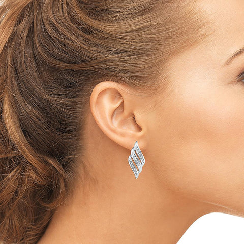 Enchanted Everyday Silver Earrings