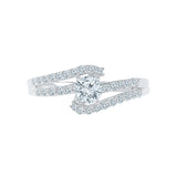 Lavish Solitaire Diamond Engagement Ring