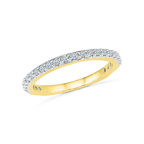 Blend Diamond Band Ring