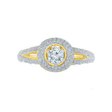 Love Debut Diamond Engagement Ring