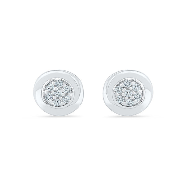 Celebrated Diamond Stud Earrings in 14k and 18k gold for women online