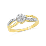 14k, 18k white and yellow gold Eternal Vow Diamond Engagement Ring in PRONG and PAVE setting for women online