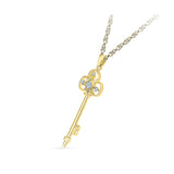 Secret Key Diamond Pendant