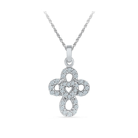 Love Faith Cross Pendant