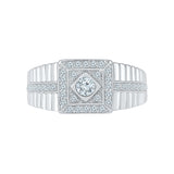Deluxe Impressions Diamond Ring For Men