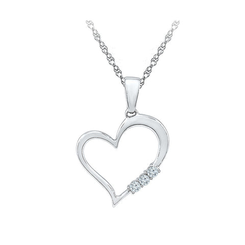 Until We Meet Again Diamond Pendant