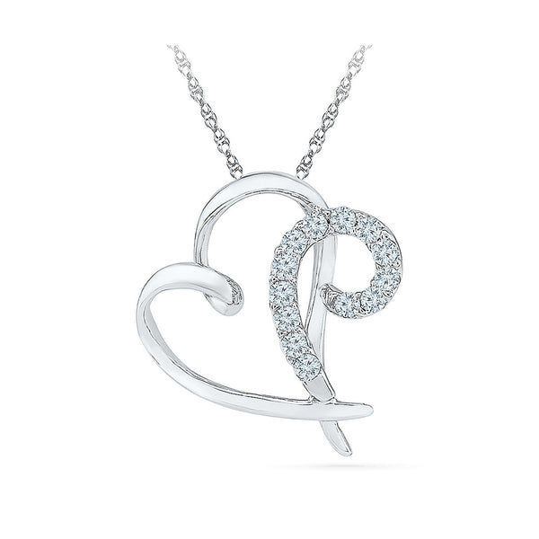 Au Courant Diamond Pendant - Radiant Bay