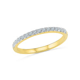 Entwine Diamond Band Ring
