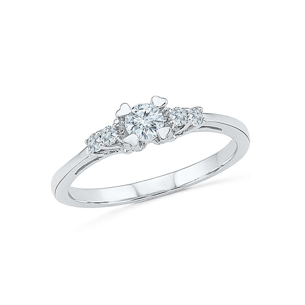 Charming Pledge Diamond Engagement Ring