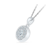 Regal Splendor Diamond Pendant