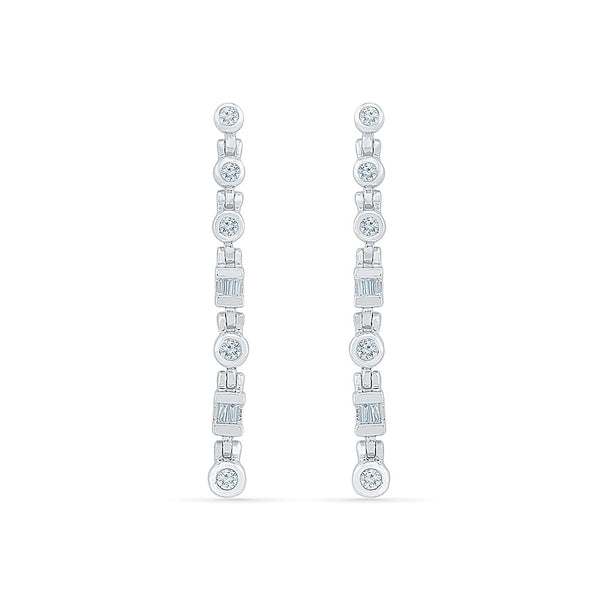 Link Luster Diamond Danglers in 14k and 18k gold for women online