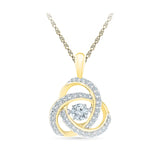 Divine Sparkle Diamond Pendant