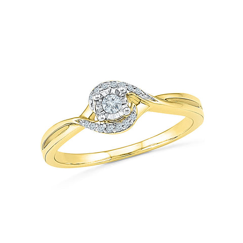 From Love to Forever Diamond Engagement Ring
