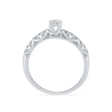 Vineframe Solitary Diamond Engagement Ring