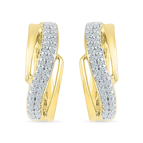 Enthralling Everyday Diamond Earrings in 14k and 18k gold for women online
