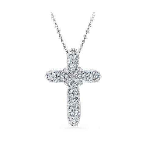 Medieval Cross Pendant in 14k and 18k Gold online for women