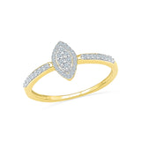 Touch of Class diamond Cocktail Ring