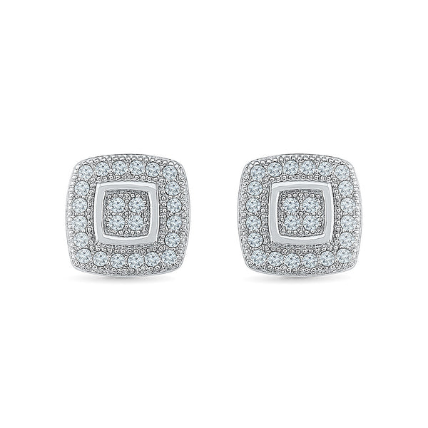 Buoyant Diamond Studs in 14k and 18k gold for women online
