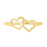 Together Forever Heart Gold Ring