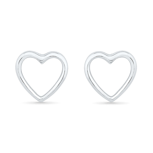 Tiny Heart Gold Earrings