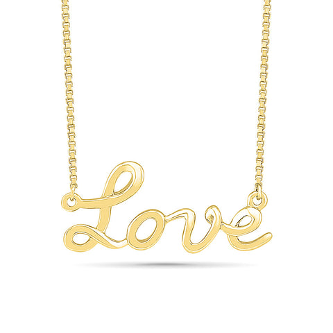 Love For You Gold Necklace
