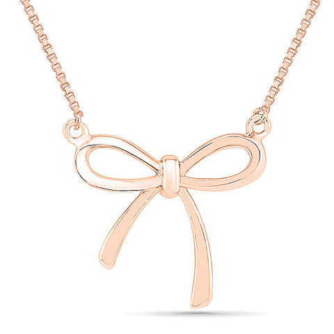 Bow Fashion Gold Pendant