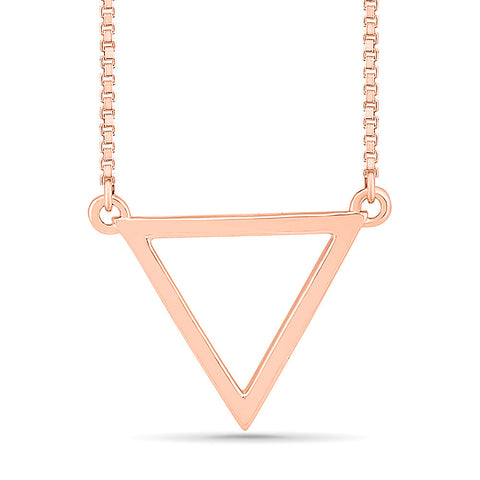 Conical Gold Necklace