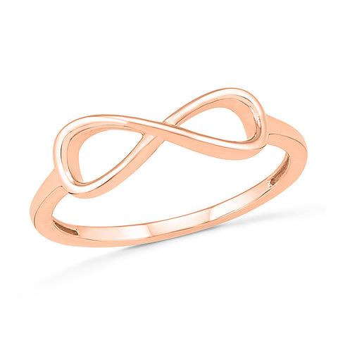 Infinity Gold Ring