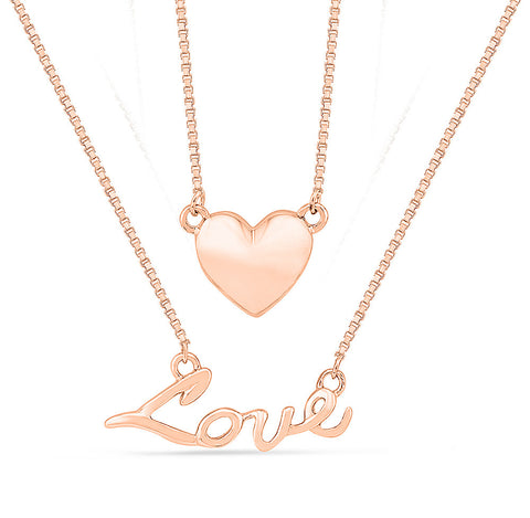 Multi-Layer Love Gold Necklace